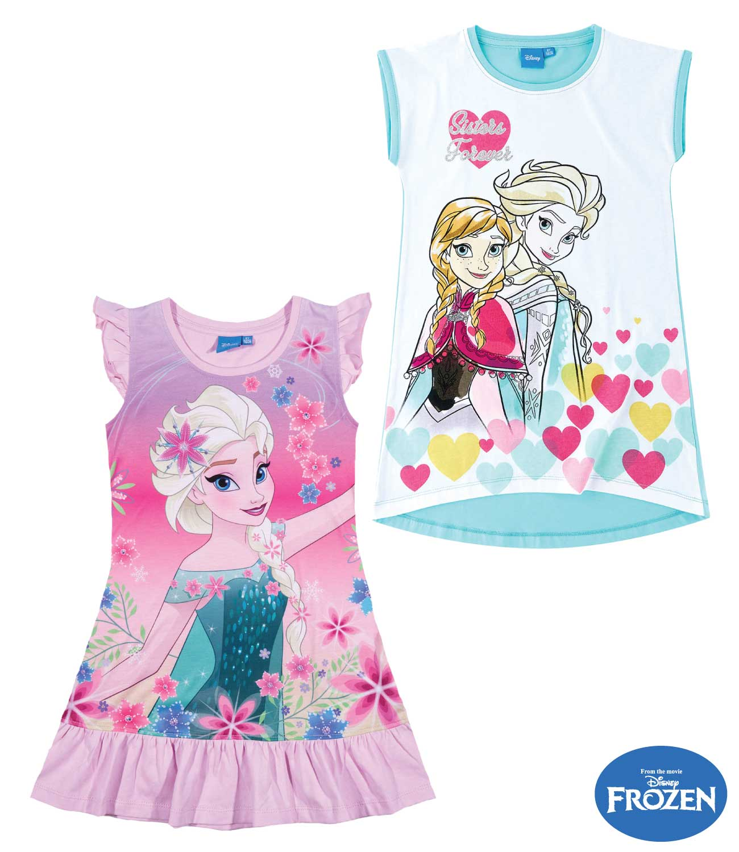 d78ad61d47e0 Nočná košeľa Frozen Ľadové kráľovstvo šaty