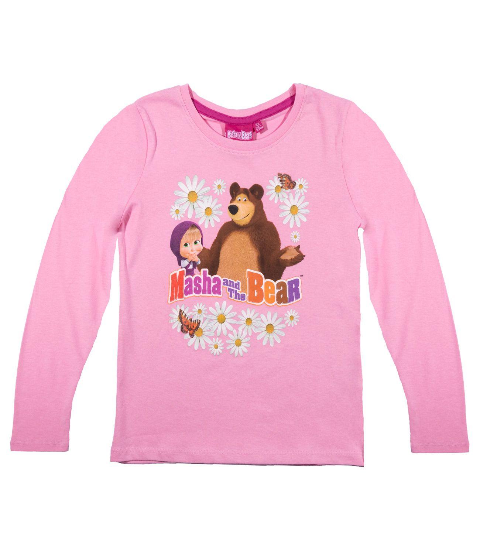 2ddefc776023 Tričko Máša a medveď s dlhým rukávom 3