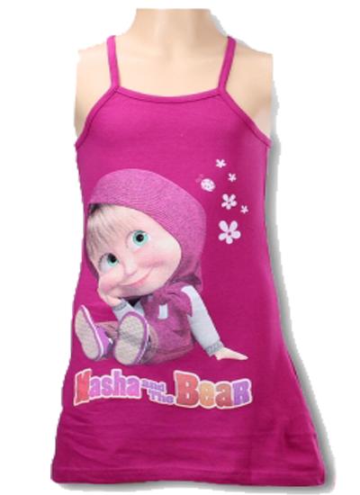bdbeae460c7d Fialové šaty Máša a medveď 2