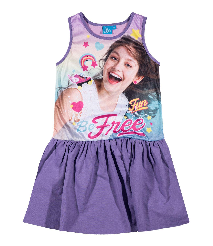 36dbe8d13 Fialové šaty Soy Luna 1