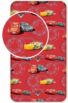 Plachta Cars red 90x200 cm