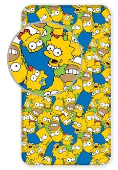 Plachta na postel Simpsons 01 90x200 cm
