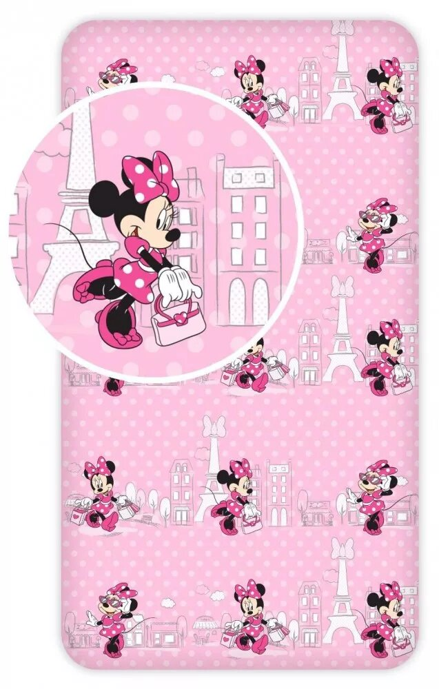 Plachta Minnie Mouse 04 90x200 cm