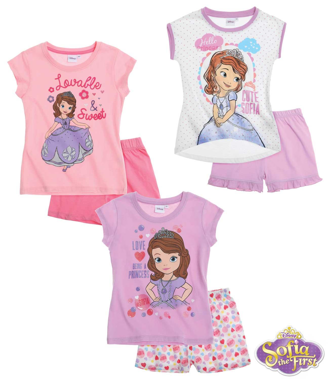 73c6c9def57c Pyžamo princezná Sofia prvá tričko a kraťasy