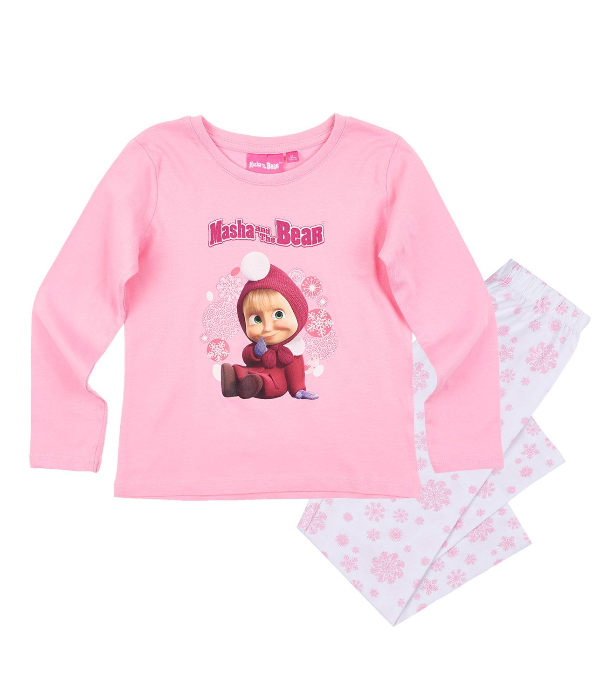 2304d3560 Pyžamo Máša a medveď 11 - Ružová farba, veľkosť 110