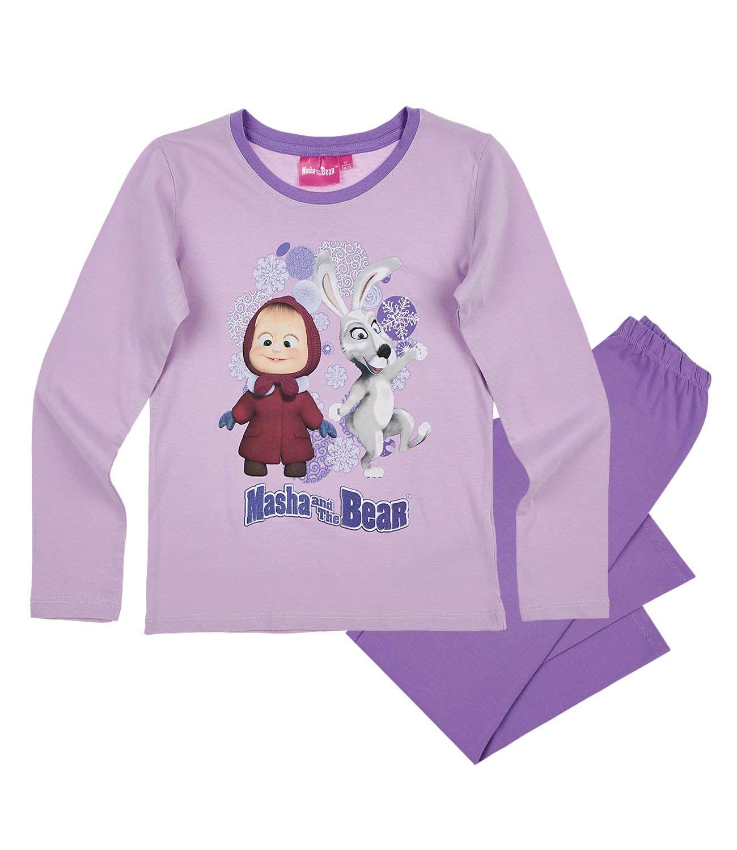 9dc23c870903 Pyžamo Máša a medveď 8 - Fialová farba