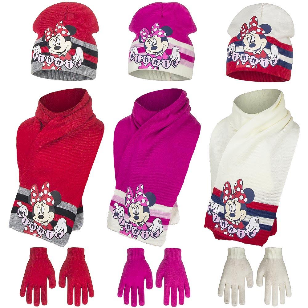 d701f8ee0 šála, čiapka, rukavice Minnie Mouse 1 - veľkosť 52 a 54 oblečenie, čapica,  rukavice, rukavičky
